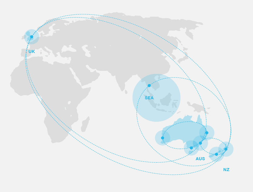 Markham - Map of our global locations
