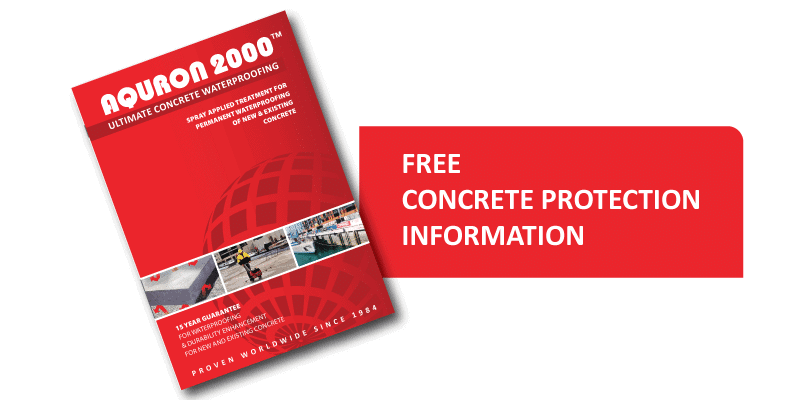 Download information on concrete protection using Aquron hydrogel treatment