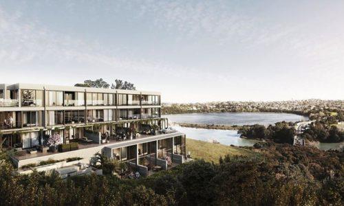 Past project - Satori residential development in Orakei, Auckland, New Zealand