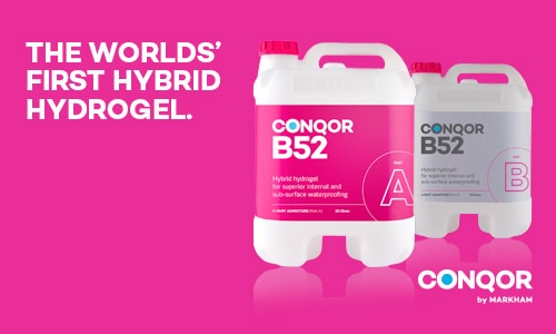 Conqor B52 - Colloidal Silica Hydrogel - Concrete Waterproofing Admixture