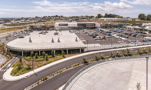 Carpark waterproofing project - Silverdale Shopping Centre in Silverdale, Auckland, New Zealand