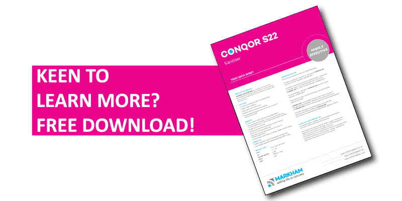 CONQOR S22 information download call to action tab