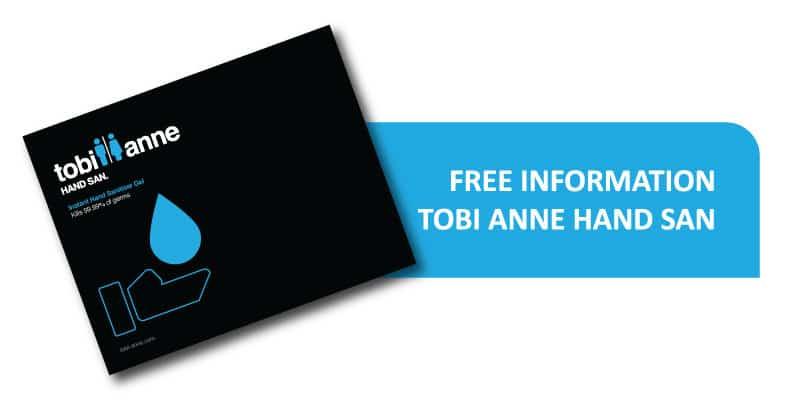 Free information on Tobi Anne Hand San hand sanitiser