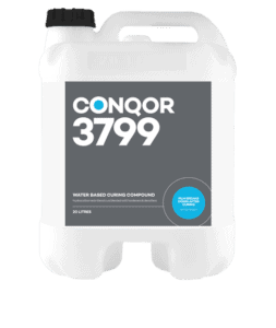 CONQOR 3799 CURING COMPOUND - Hydrocarbon resin blend cure blended with hardeners and densifiers to create the highest performance curing compound