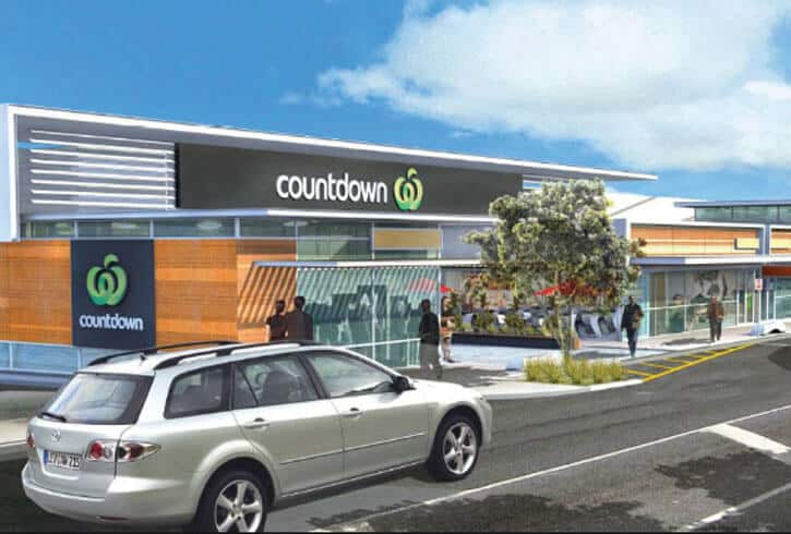 A render of Countdown Waiheke Island, Auckland, New Zealand