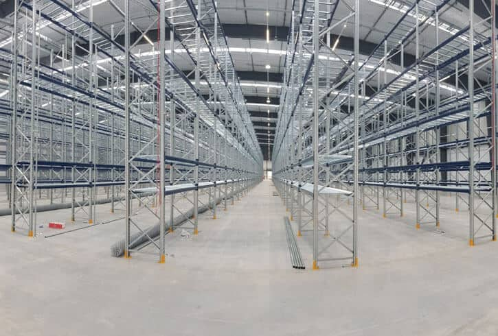 Fisher & Paykel Healthcare warehouse treated with the Markham concrete durability and protection system