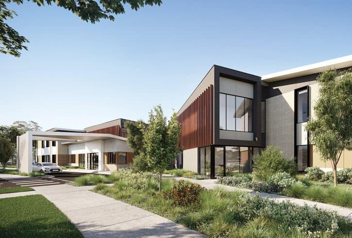 Baptcare Wattle Grove aged care facility entrance
