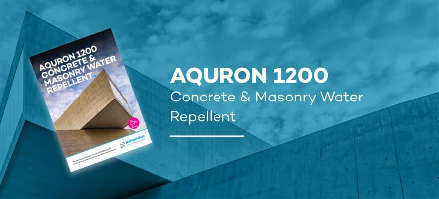 AQURON 1200 - Concrete and Masonry Water Repellent