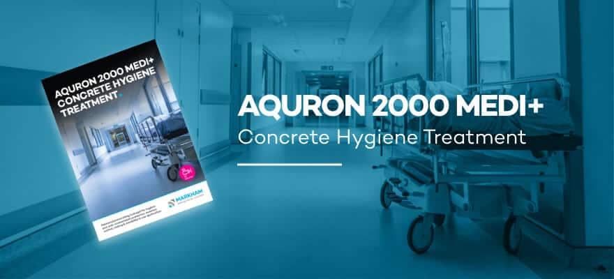 AQURON 2000 MEDI+ - Concrete Hygiene Treatment