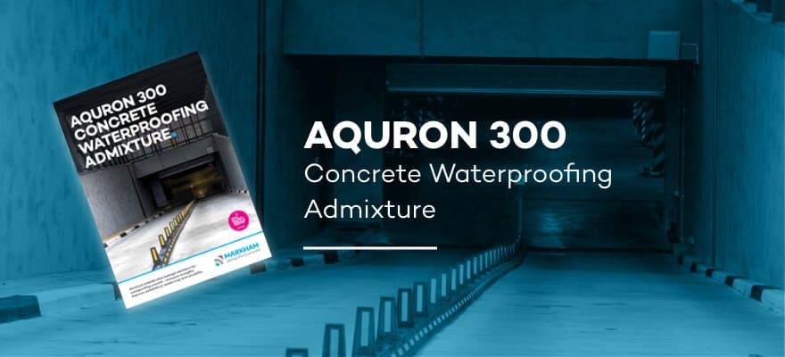 AQURON 300 - Concrete Waterproofing Admixture
