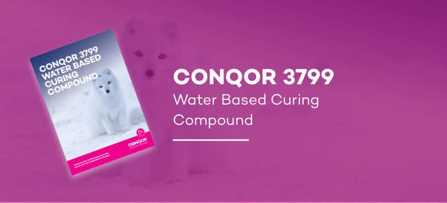 CONQOR 3799 - Water Based Curing Compound