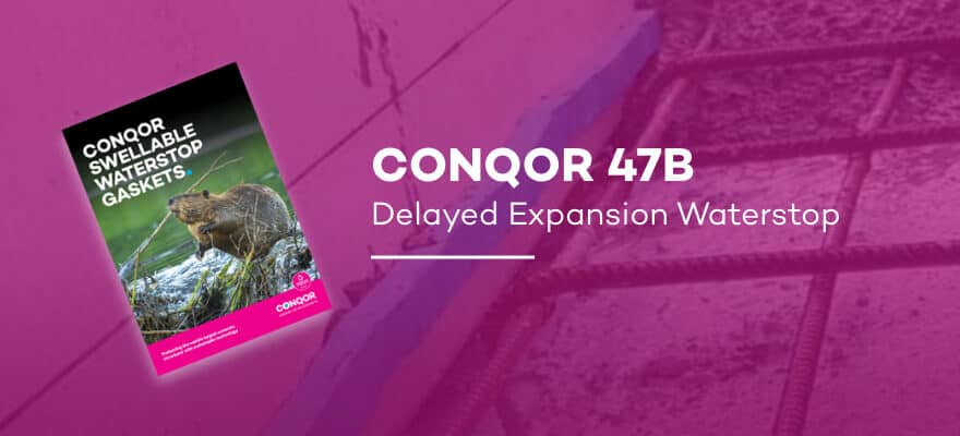 CONQOR 47B - Delayed Expansion Waterstop
