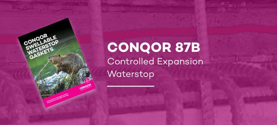 CONQOR 87B - Controlled Expansion Waterstop