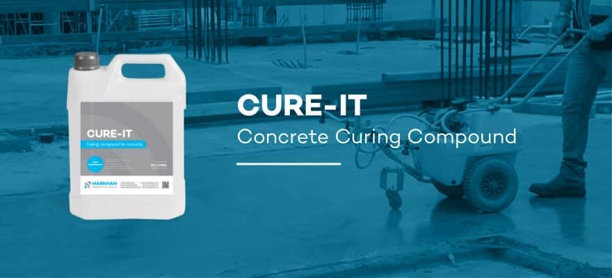 CUTE-IT - Concrete Curing Compound