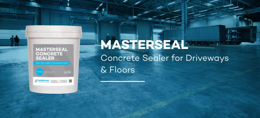 MASTERSEAL - Concrete Sealer for Driveways and Floors